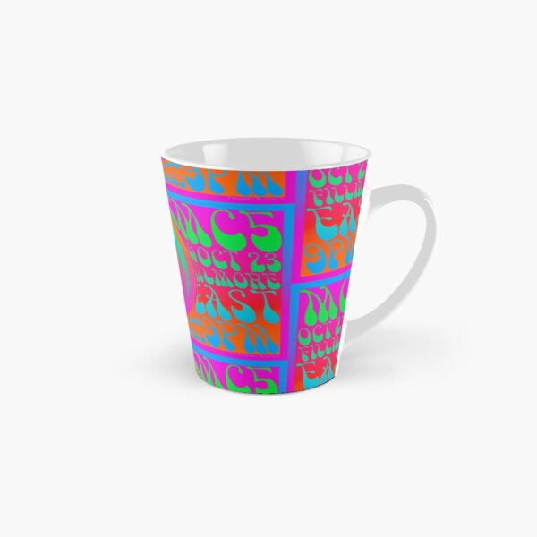 1960s Psychedelic  Music Festival Poster Tall Mug