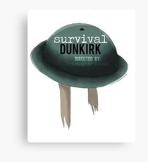Survival in Dunkirk Canvas Print
