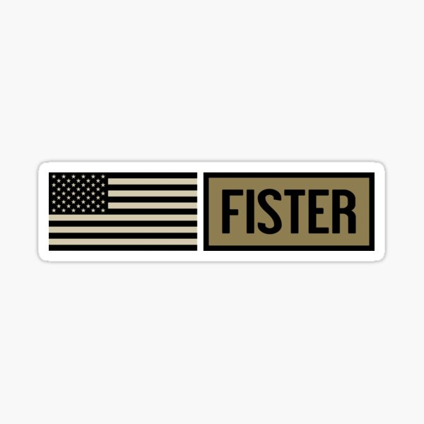 Military: Fister Sticker