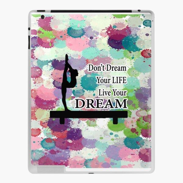 Gymnastics Live Your Dream Design iPad Skin
