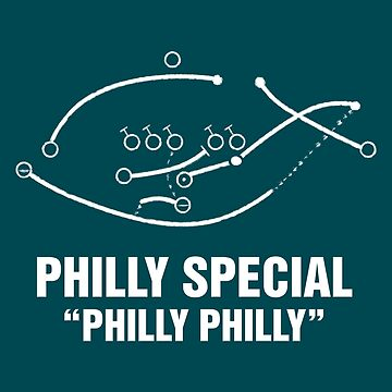 Philly Special Football Shirt by fishbiscuit