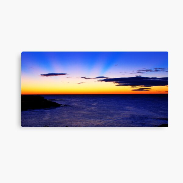 Coogee Bay, New South Wales. Canvas Print