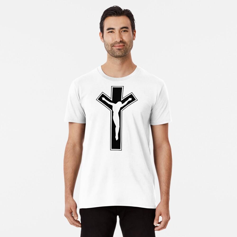 Cross (in black) Premium T-Shirt