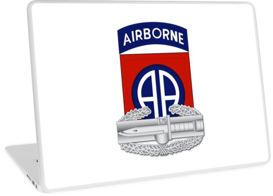 82nd Airborne Combat Action Badge by jcmeyer