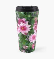 Flower Garden - Magenta Travel Mug