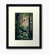 MY THERAPY: Mountain Bike! Framed Print