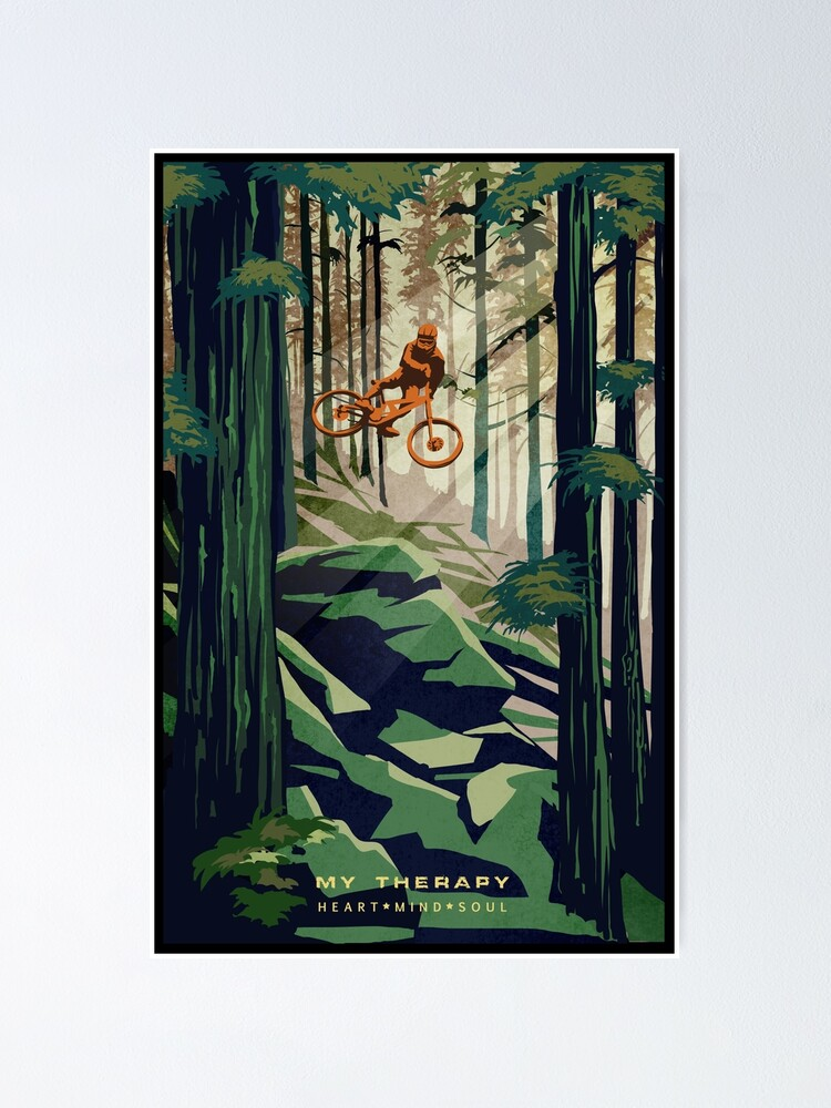 Alternate view of MY THERAPY: Mountain Bike! Poster