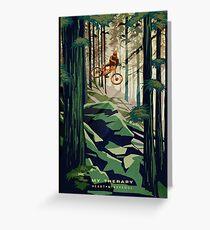 Tarjeta de felicitación MI TERAPIA: ¡Mountain Bike!
