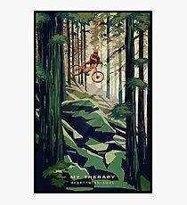 Lámina fotográfica MI TERAPIA: ¡Mountain Bike!