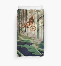 MY THERAPY: Mountain Bike! Duvet Cover