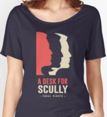 A Desk for Scully Women's Relaxed Fit T-Shirt