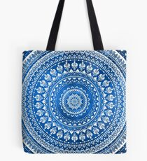 Mandala Blue Tote Bag