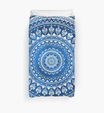 Mandala Blue Duvet Cover