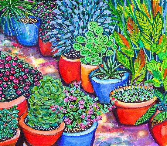 Down the Garden Path by marlene veronique holdsworth