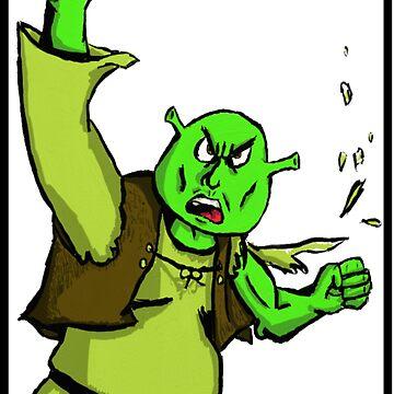 Shrek's Bizarre Adventure by JerryOfficial