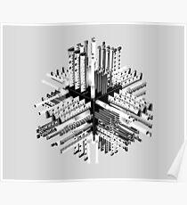 Mechanic Cube Poster