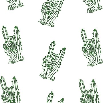 Cactus Hands by ruuubee