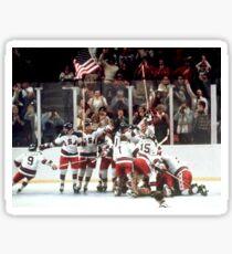 1980 Miracle on Ice Sticker
