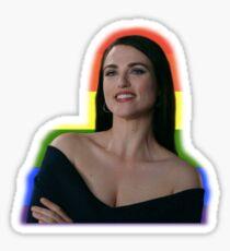 Katie McGrath Rainbow Sticker