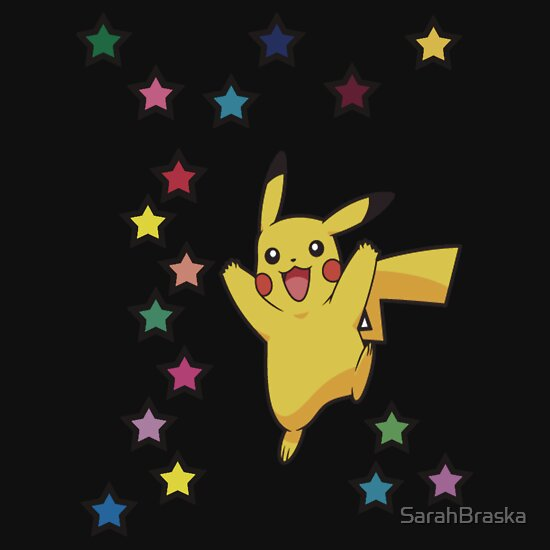 TShirtGifter presents: Pikachu: Star Blast