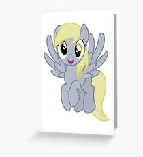 Happy Derpy Greeting Card