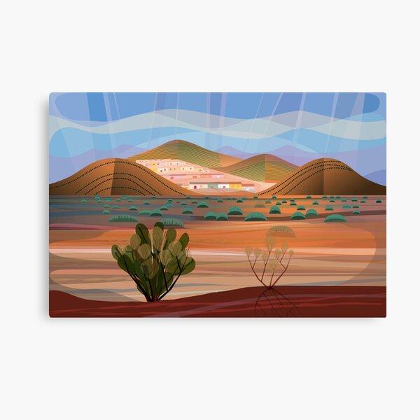 Copper Town Canvas Print