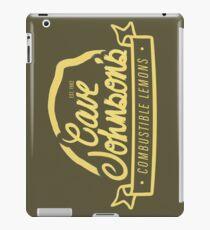 cave johnson's combustible lemons iPad Case/Skin