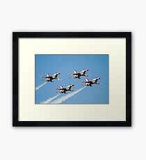 The United States Air Force Air Demonstration Team, The Thunderbirds Framed Print
