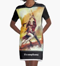 It's complicated Graphic T-Shirt Dress