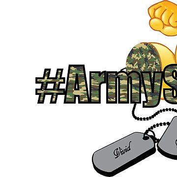 #ARMYSTRONG EMOJI by VividAudacity