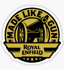 Royal Enfield Made Like A Gun BLK Sticker