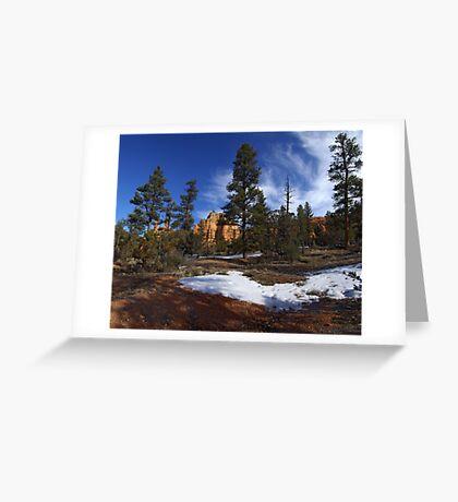 Red Canyon, Utah Greeting Card