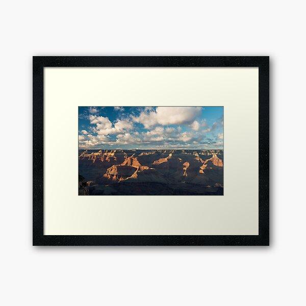 Temple Clouds – Grand Canyon National Park, Arizona Framed Art Print
