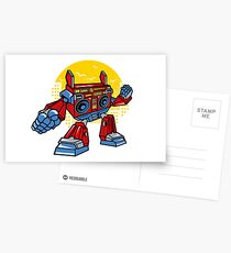 Boombox Robot Postcards