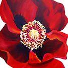 «Big Red Poppy» de marlene veronique holdsworth