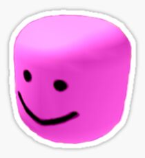 Pink oof Sticker
