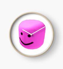 Pink oof Clock
