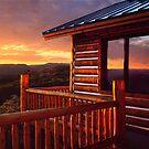 Colorado Cabin by Steve  Taylor