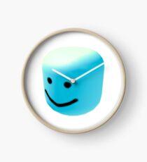blue oof Clock