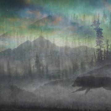 Wolf Noir by Martsam