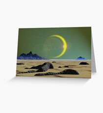 Lost World Greeting Card