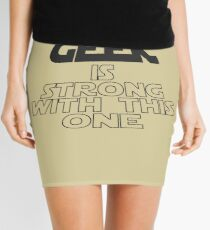 The Geek Is Strong With This One Mini Skirt