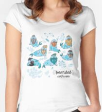 Bearded walruses Women's Fitted Scoop T-Shirt