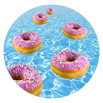 Donut Float by Bsbodyache