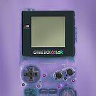 «Mini videojuegos clásicos de color púrpura transparente» de Galih Sanjaya Kusuma wiwaha