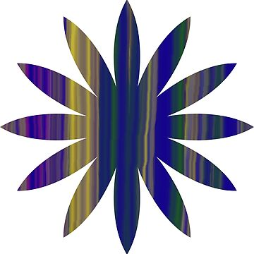 Hippy Flower by Kezzarama