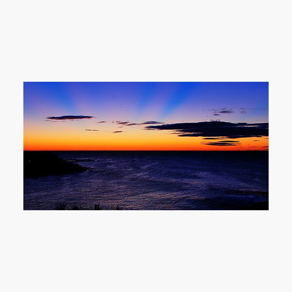 Coogee Bay, New South Wales.  Photographic Print