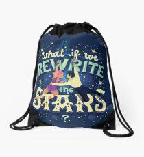 Rewrite the stars Drawstring Bag