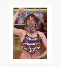 Belly Dancer Voltron AU Lance Art Print