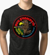 Bug Stomper Tri-blend T-Shirt